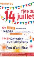 Fête Nationale à Hermeray : soirée dansante, flambeaux et feu d'artifice