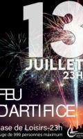 14 juillet à Saint Fargeau Ponthierry : feu d'artifice