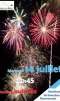 Feu d'artifice du 14 juillet à Mandres les Roses