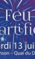 Feu d'artifice du 14 juillet à Asnières-sur-seine