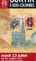 Fête Nationale et Feu d'artifice à Bois-Colombes