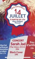 Marché, concert et Feu d'artifice du 14 juillet à Triel-sur-Seine