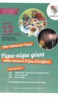 13 juillet - fête nationale à Vigny