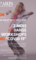 Grand stage danse - NO COVID19 - été 2021