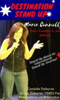 Destination Stand Up. One Helluva Woman Show in English!