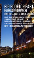 BIG ROOFTOP PARTY - GRATUIT avec INVITATION - DU MARDI AU DIMANCHE