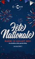 Feu d'artifice - Fête nationale à Clichy la Garenne