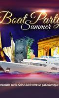 PARIS BOAT PARTY SUMMER BATEAU CLUB TERRASSE AUX PIEDS DE LA TOUR EIFFEL