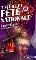 Fête Nationale à Meaux : défilé spectacle et feu d'artifice