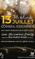 Fête nationale et Feu d'artifice à Corbeil-Essonnes