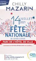 Feu d'artifice, Bal du 14 juillet... les festivités à Chilly Mazarin