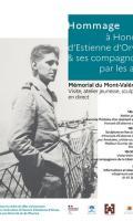 Journée d'hommage citoyen à Honoré d'Estienne d'Orves et ses compagnons par les arts