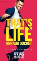 ARNAUD DUCRET - THAT'S LIFE