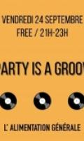 Mel C x Party is a groovy thing