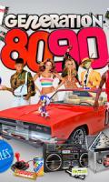 GENERATION 80-90 : La Boum 80s 90s retourne les Etoiles ( INVITATIONS pour les FILLES )