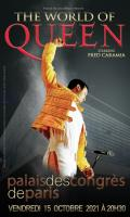 THE WORLD OF QUEEN - STARRING FRED CARAMIA