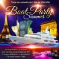 PARIS BOAT SUMMER PARTY ( FILLE > GRATUIT, BATEAU CLUB GEANT, 2 SALLES CLUB + GRANDE TERRASSE COUVERTE )