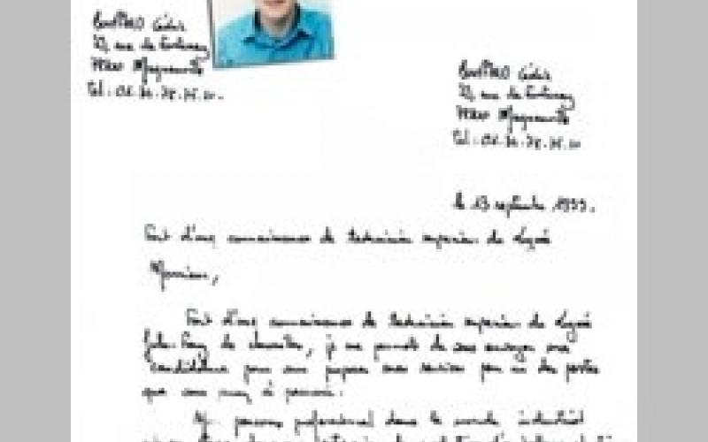 une lettre de motivation doit elle être manuscrite Lettre de motivation   Le Parisien Etudiant une lettre de motivation doit elle être manuscrite